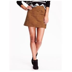 Old Navy | Faux Suede Mini Skirt